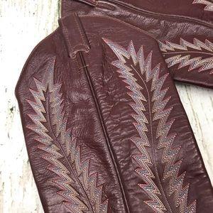 Larry Mahan's Shoes - Larry Mahan's Vintage Leather Cowboy Boots 6.5/7